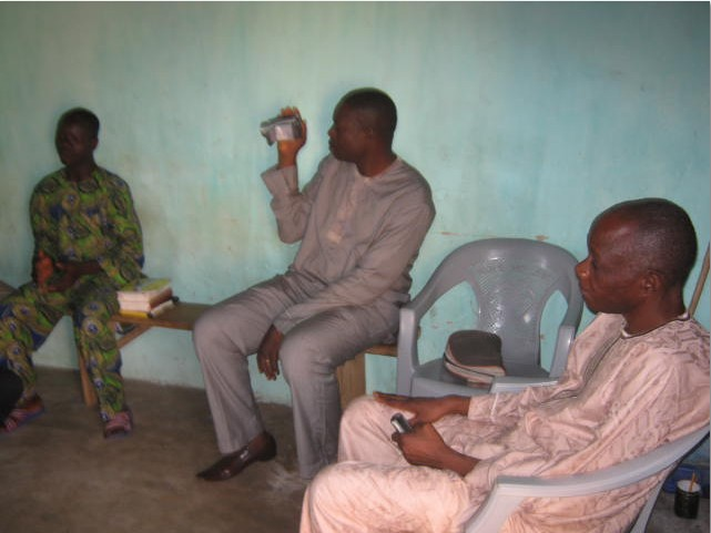 From Right, Pastor Tunde Oloyede, Bar. George Olaniyi and a brother in Togo