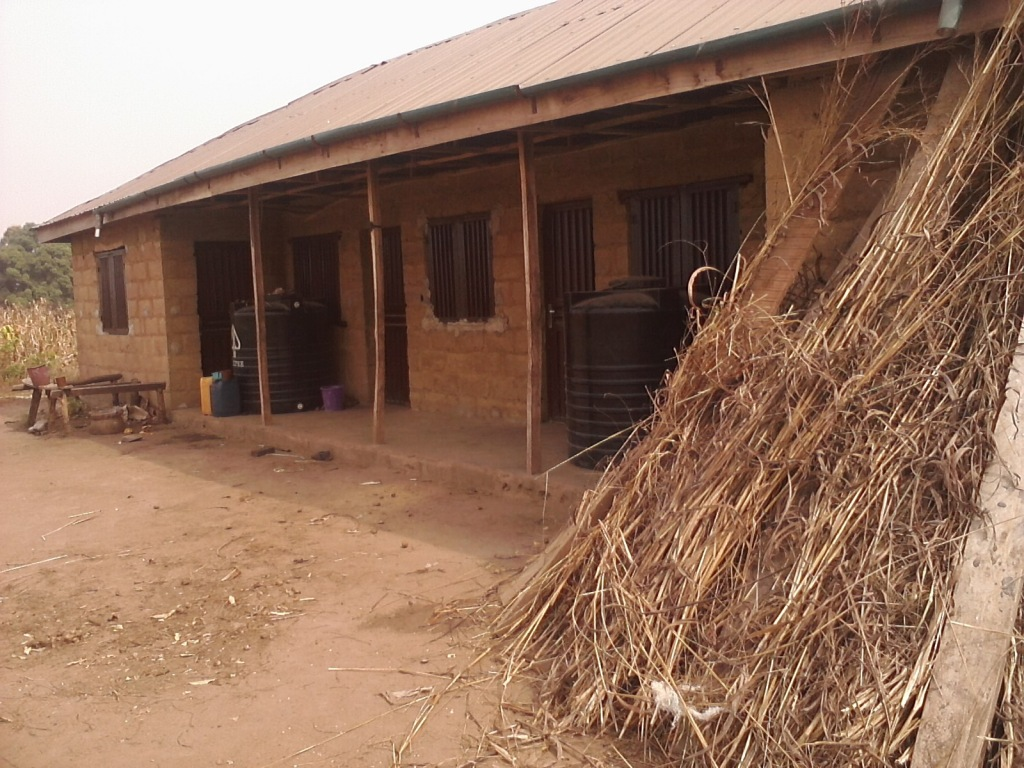 A residential house in Togo