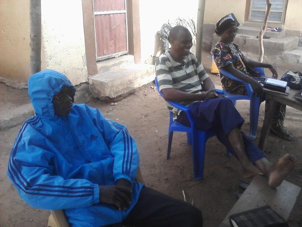 The Gospel Outreach Team in Moretan, Togo